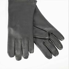 SAMCO Black Size 8 Leather Gloves Polyester Wool Lining New