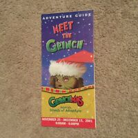 Vintage Universal Studios Florida Islands of Adventure Grinchmas 2001
