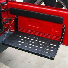 Fit For Jeep Wrangler JK 07-2017 Rear Foldable Tailgate Black Table Storage Rack
