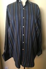 Men's TD Thomas Dean Shirt XL-TG 100 Cotton Button Up Flip Cuffs
