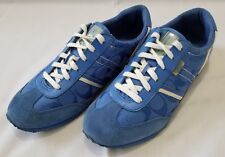 Womens Size 8.5 M Blue Coach Marabelle Leather Fabric Shoes Q1789 preowned