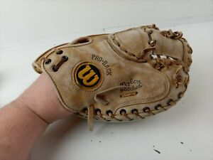 Wilson A2403 Pro-Toe Professional RHT Catchers Baseball Glove Mitt Grip Tite