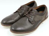 Seven 91 Mens Casual Dress Brown Leather Oxford Lace-Up Shoes Size 8