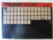 1988 Polaris Trail Boss 4x4 ATV Microfiche Parts Catalog W888127