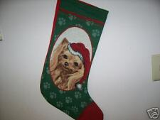 Yorkie Christmas Stocking/Collectible/Holi day/Animal
