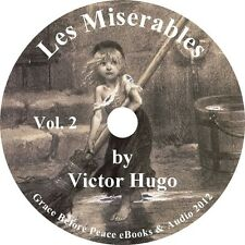 Les Miserables Vol.2 English Audiobook by Victor Hugo on 1 MP3 CD