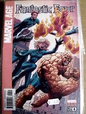 MARVEL AGE n°4 2004 - Fantastic Four ed. Marvel Comics [G.182]