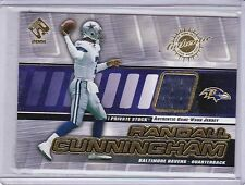 2001 Private Stock Game Worn Gear #8 Randall Cunningham Jersey
