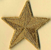 "2"" Embroidered Star Patches by Katarra8 - Set of 5 stars: Your choice of colors"