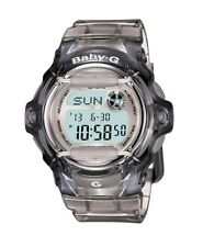 Casio Baby-G BG169R-8CU Whale Series Women's Clear Gray Resin Digital Watch