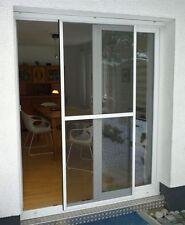Insektenschutz Schiebetür Fliegengitter Tür 120 x 240 cm  aus Aluminium