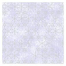 York DI0961 Wallpaper Disney Frozen 2 Snowflake Unpasted Purple Wallcoverings