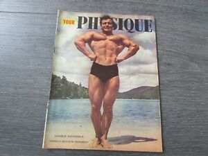 Your Physique Body Building Gym Fitness Interest Magazine May 1949
