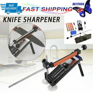 Professional Kitchen Sharpening System Fix-angle Knife Sharpener With 4 Stones
