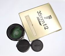 Nikon 35mm f2 Ai  #116045 ......... Minty w/Box