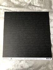Pebbles Midnight Haunting 12x12 papel de Scrapbook-Eeek!