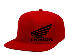Honda Motors Trucker Hat Wing Logo ATV Powersports Motorcycle Snapback Cap NEW