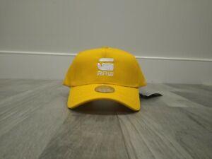 G Star Raw Casual BASEBALL CAP Yellow Limited