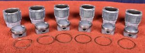 Porsche 911 Carrera RS Mahle 2.7 Piston Cylinder Set 911/83 91110392801 MFI 8.5