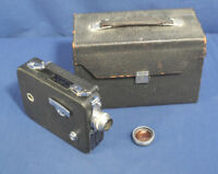 Vintage Cine Kodak Eight Model 60 8mm Movie Camera in Original Leather Case
