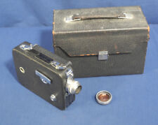Vintage Cine Kodak Eight Model 60 8mm Movie Camera in Original Leather Case
