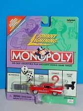 Johnny Lightning Monopoly Illinois Ave '57 Chevy Red w/ Token