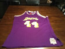 Jerry West Los Angles Lakers authentic jersey size 54 New with tags