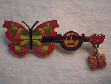 Hard Rock Cafe Rio de Janeiro Butterfly '08 Pin