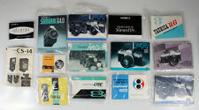 YASHICA LITERATURE ARCHIVE LARGE LOT