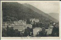 Ansichtskarte Bad Harzburg - Badehaus und Kurpark von 1911 (!) - schwarz/weiß