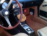 Cuffia leva cambio Alfa Romeo Duetto vera pelle cuoio
