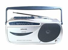 Craig Electronics CD6911 Portable AM/FM Radio Cassette Player with Recorder New