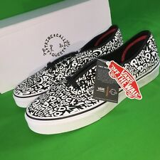 VANS A Tribe Called Quest Size 10.5 Tracklist Gum Bottom Skate Shoes NEW Limited