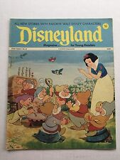 1972 Disneyland Comics Magazine No 32 Snow White and 7 Dwarfs Cover Nice