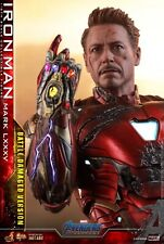 Hot Toys Avengers Endgame Iron Man MK85 Battle Damaged 1/6 Figure PRE ORDER