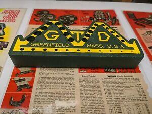 Vintage Millers Falls Greenfield Tool Drill 60 Bit Index Holder GTD Mass USA