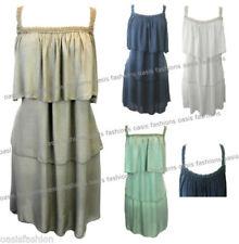 Knee Length Boho Strappy Dresses for Women