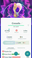 Cresselia with Grass knot CP under 1500 unlock 3 moveset for pvp Ultra - Trade