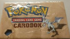 RARE empty Pokemon 1999 Trading Card Storage Box Cardbox fossil vintage old x1