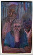 Die Künstler - Familie / Expressionist / Gemälde aus der Sammlung Beermann