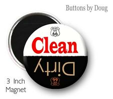 Dish Washer Magnet Route 66 Clean Dirty Magnet for all the Route 66 Fanatics