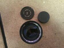 M42 Vivitar 135mm f/3.5 Auto Lens - Pentex Screw Mount