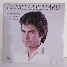 """33T Daniel GUICHARD Disque LP 12"""" JE SUIS BOHEME - J'AIMERAIS - KUKLOS 3013"""