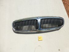 2002-2008 Jaguar X-Type OEM Front Grille assembly  Chrome and Dark Grey #114