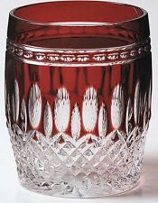 Waterford CLARENDON RUBY DOF Double Old Fashioned Whiskey DOF - 4 available