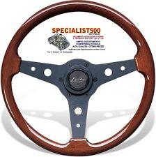 """FIAT 500 F/L/R 126  D'EPOCA VOLANTE  """"LUISI"""" MONTREAL IN MOGANO  Ø34 cm"""