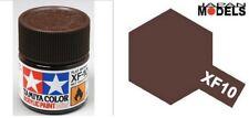 Acrylic Paint - Colore Acrilico Vernice 10ml XF-10 XF10 FLAT BROWN 81710 Tamiya