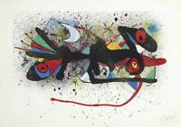 Joan Miro Untitled Poster Reproduction Paintings Giclee Canvas Print