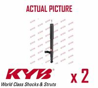 2 x REAR AXLE SHOCK ABSORBERS PAIR STRUTS SHOCKERS KYB OE QUALITY 332004
