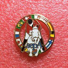 Pins CHEVAL Horse SEPA Saut D'obstacle Drapeaux Europe